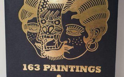 Original libro de pinturas de Teide